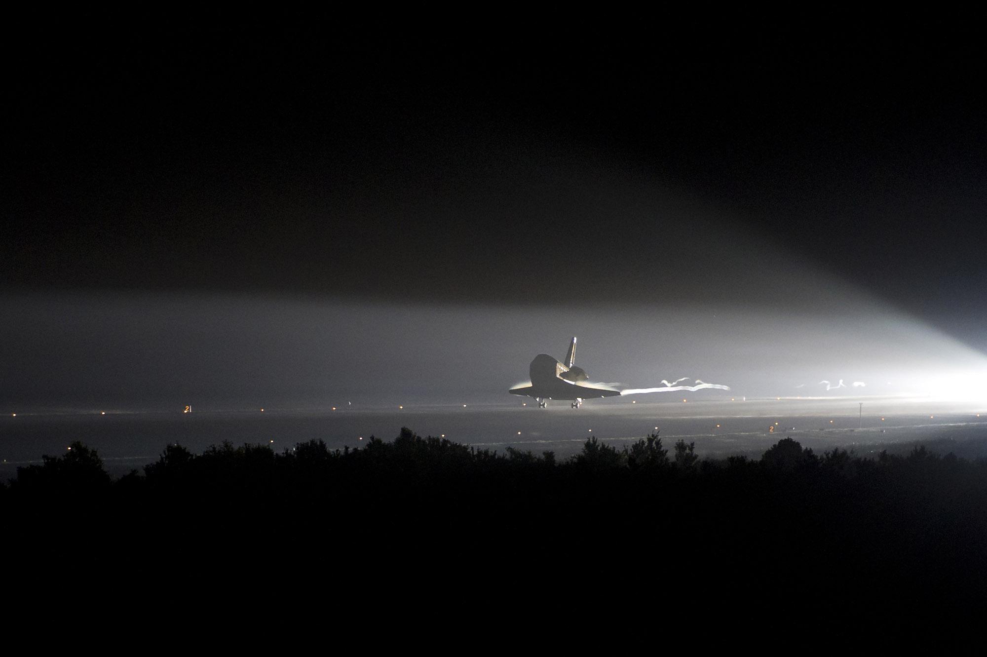 Shuttle Endeavour's Final Trip Home