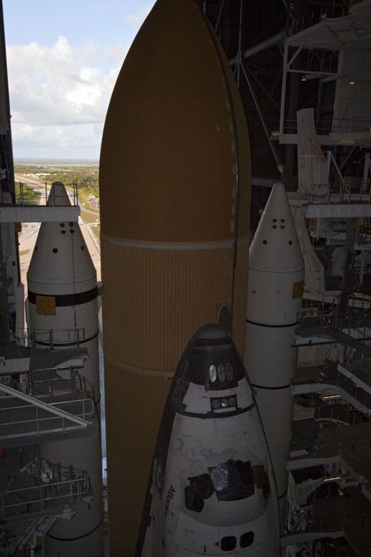The Top of Atlantis During Rollout