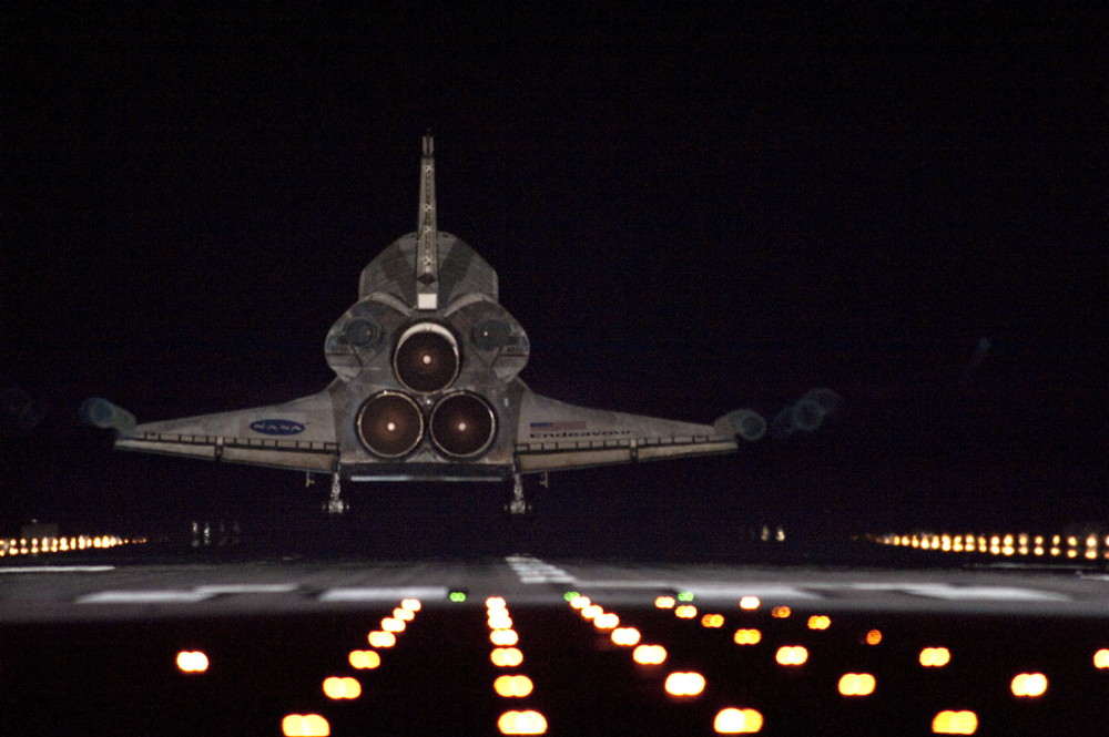 space shuttle night viewing - photo #23