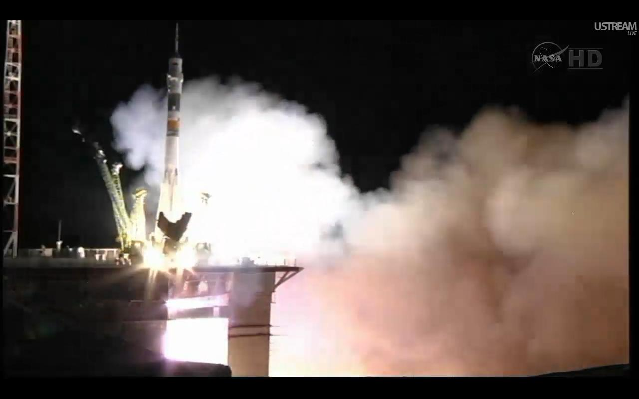 Soyuz TMA-02M Launches Expedition 28 to International Space Station