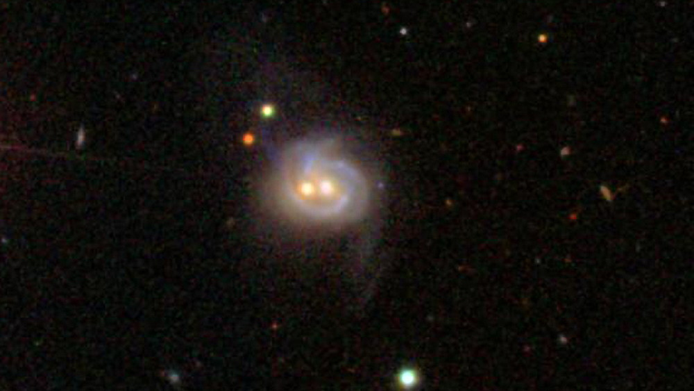 Markarian 739 or NGC 3758 Galaxy