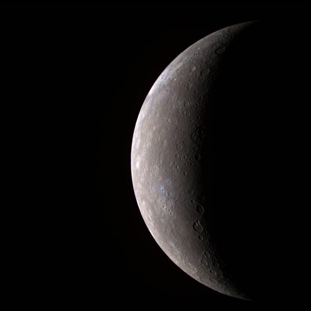 Asteroid Crash May Explain Mercury's Strange Spin