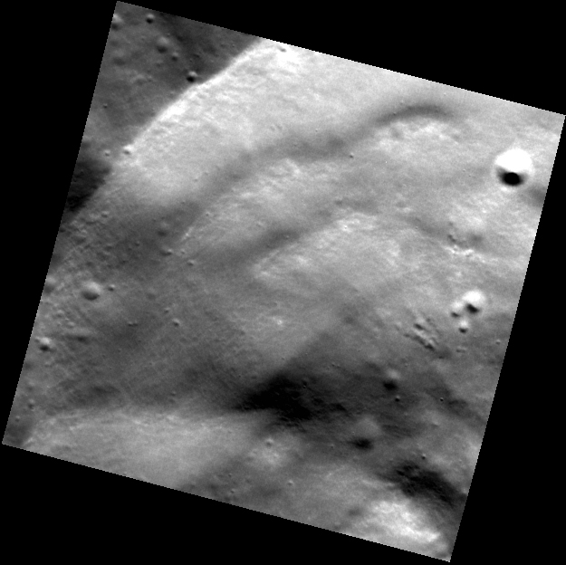 Lovely Crater Wall Slumps