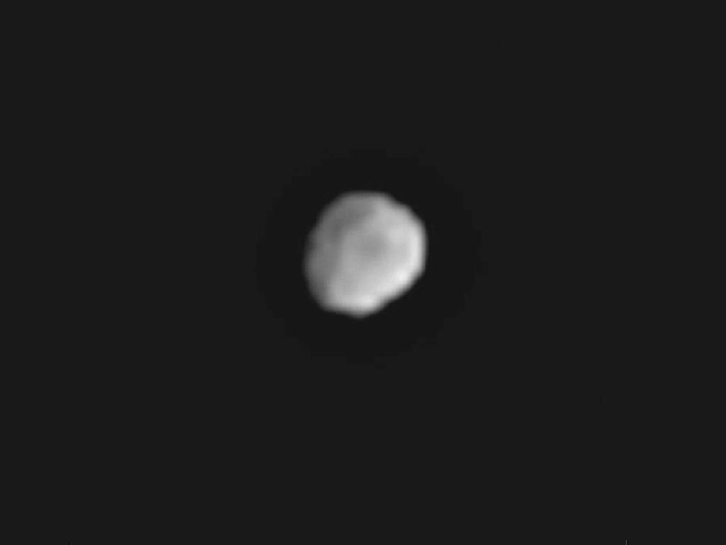Asteroid Vesta photo by Dawn spacecraft, June 1, 2011
