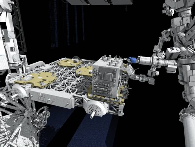 nasa space station robot - photo #38
