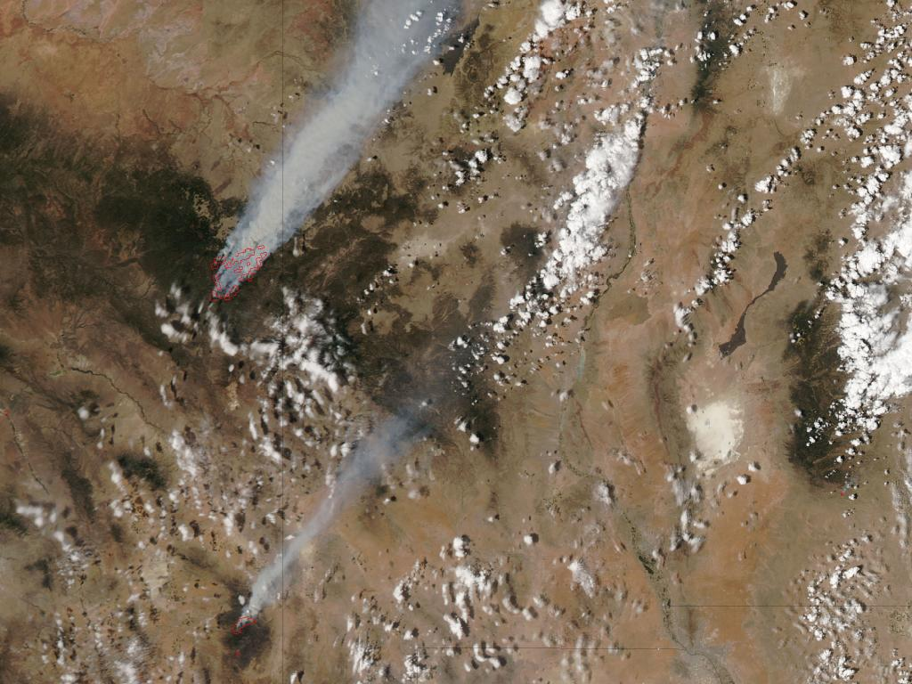 2 Big Arizona Fires, The Horseshoe 2 and Wallow North Fires