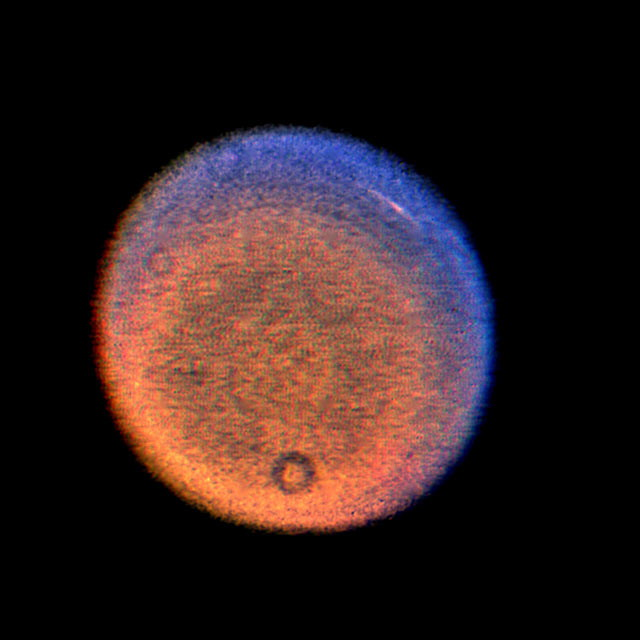 Uranus False-Color Image