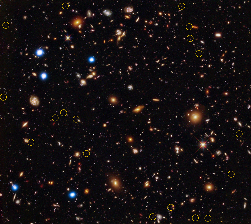 Secrets of Earliest Black Holes Found in Ancient Galaxies