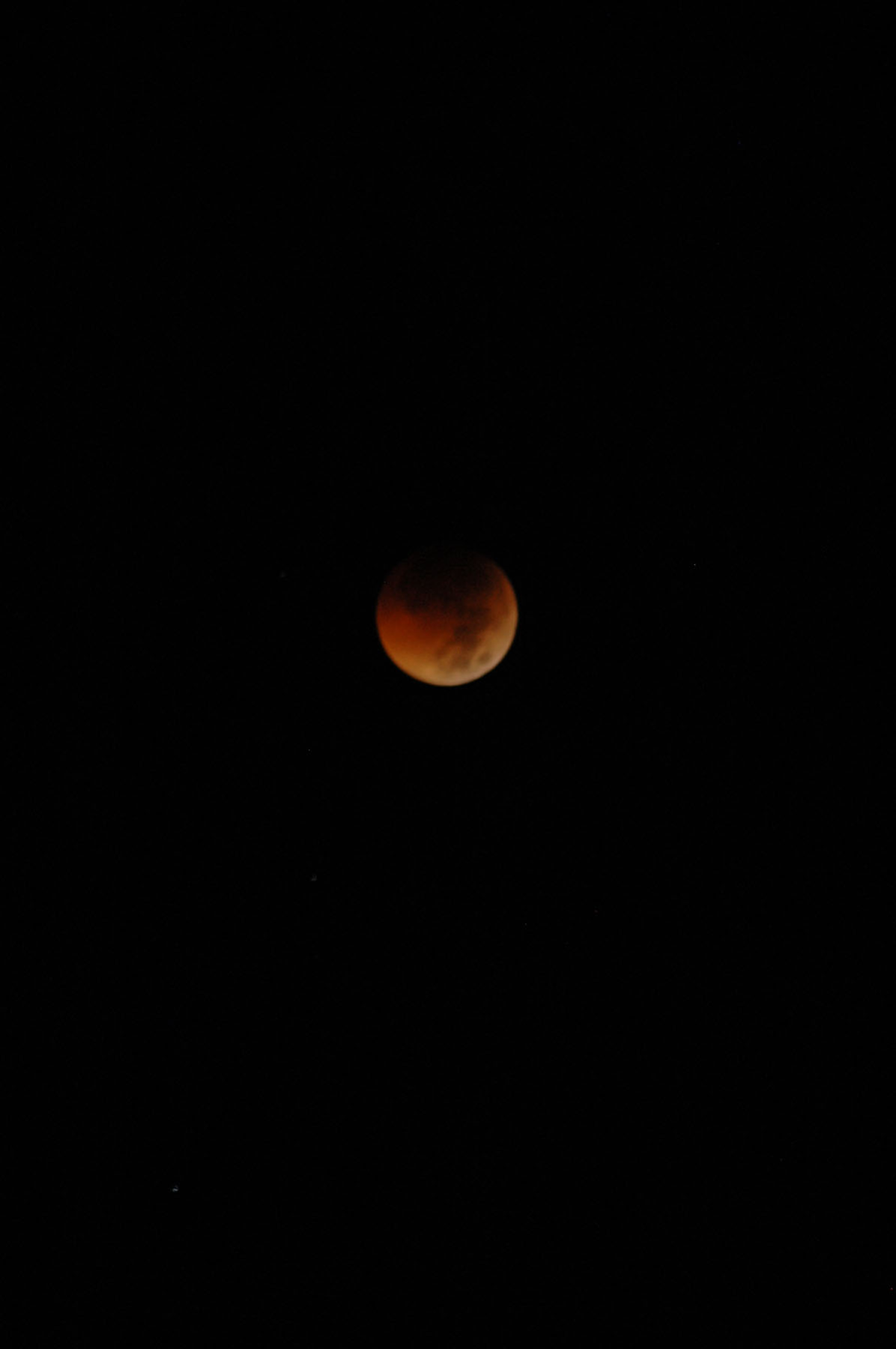 Total Lunar Eclipse of June 15, 2011: Yogyakarta, Java
