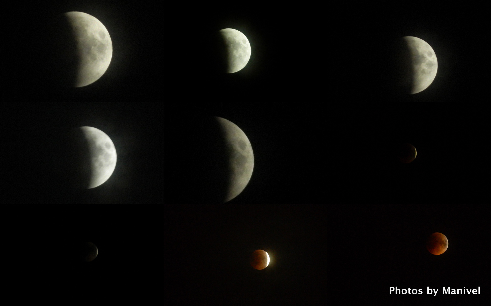 Total Lunar Eclipse of June 15, 2011: India