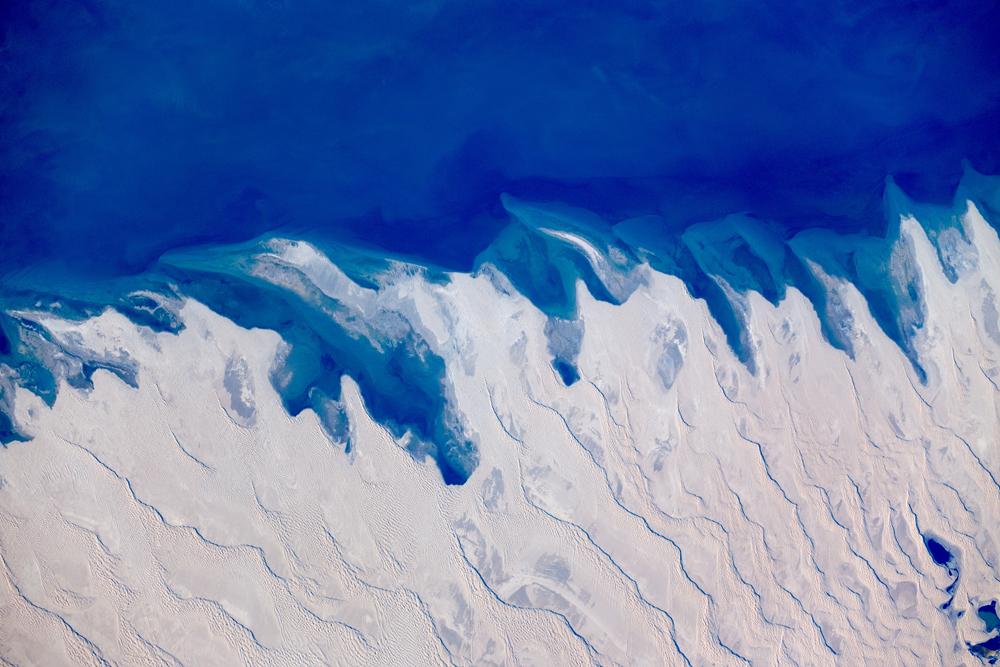 Kazakhstan Desert Seen From Space
