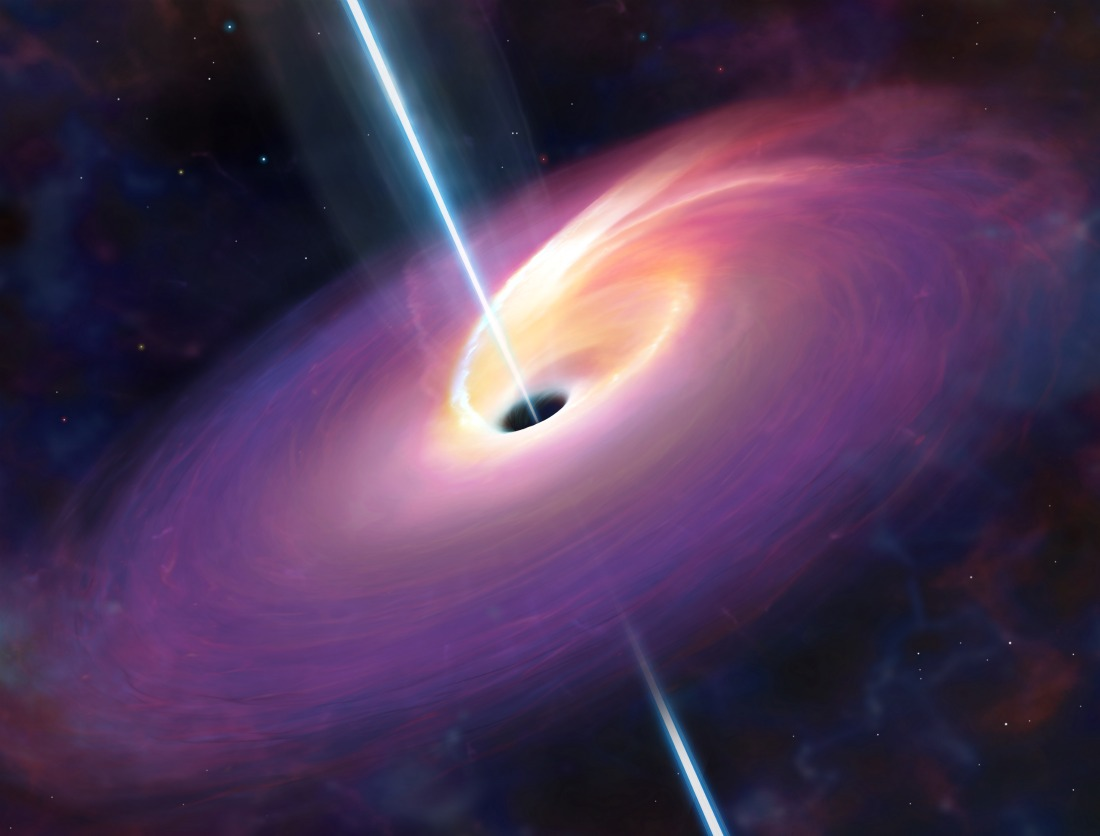 Rare Sight: Giant Black Hole Devours Star, Fires Beams at Earth