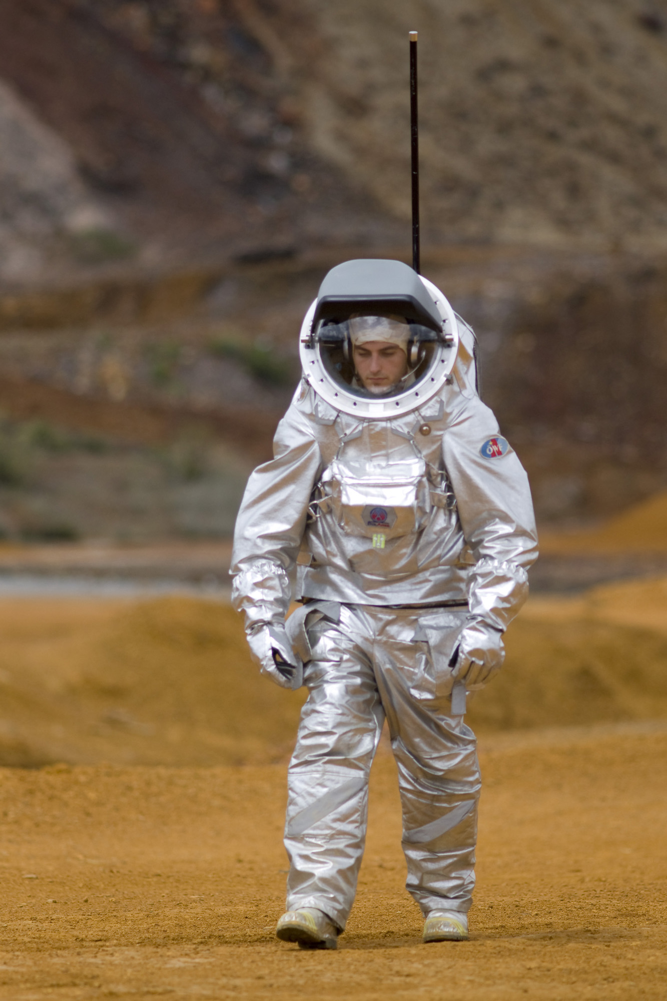 How to Keep Spacesuits Germ-Free on Mars