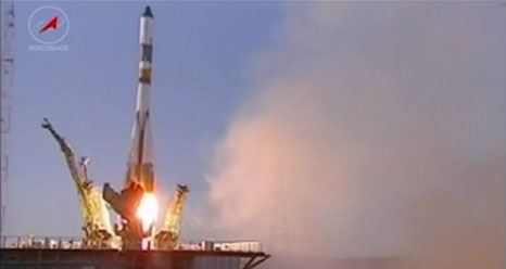 Russia Launches Robot Cargo Ship Toward Space Station