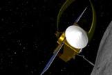 Conceptual image of OSIRIS-REx.