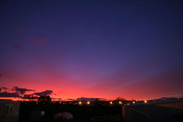 Chilean Volcano Colors Southern Hemisphere Skies