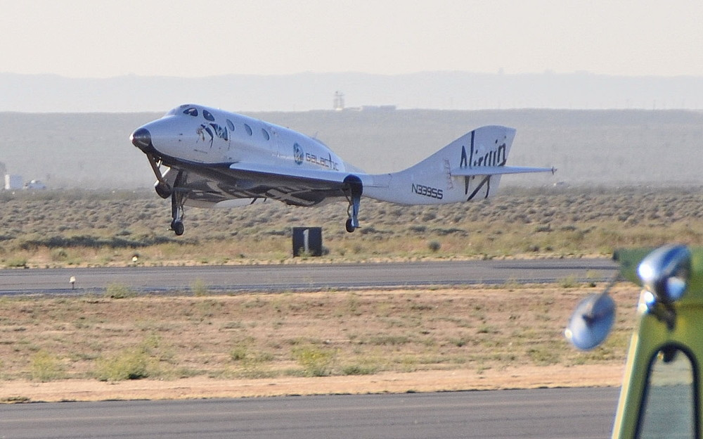 Privately Built SpaceShipTwo Keeps Passing Glide Tests with Flying Colors