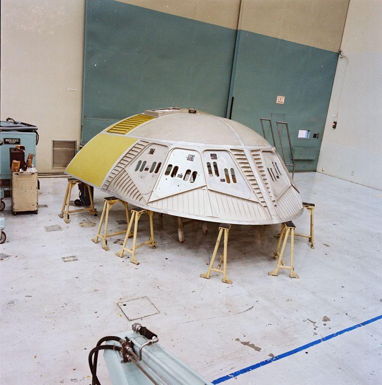 Atlantis' Upper Forward Fuselage Canopy