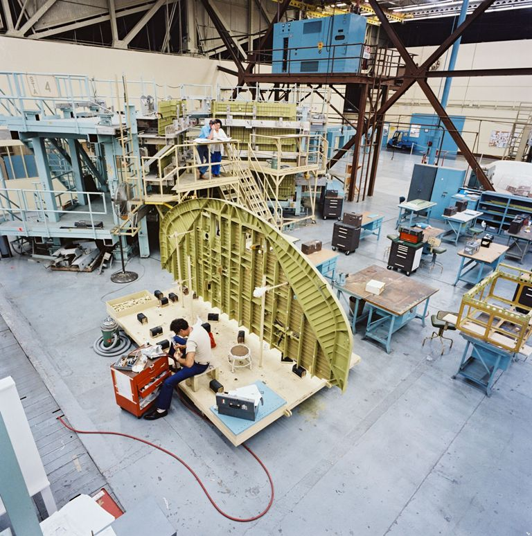 where are space shuttles built - photo #15