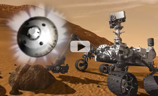 Mars Rover's Hovering Act Will Have NASA Scientists Biting Nails