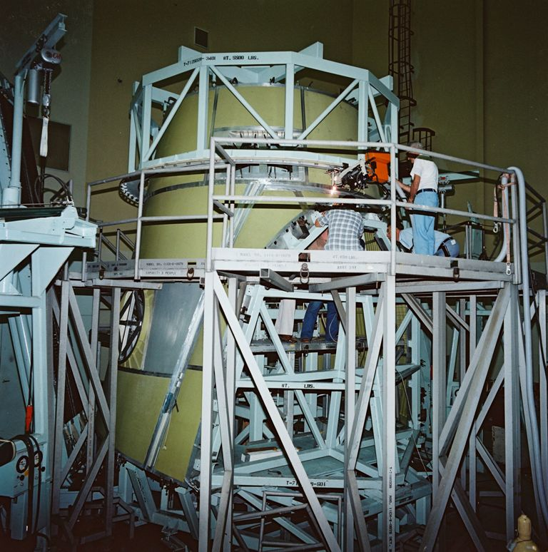 Inital Fabrication and Assembly of Atlantis' Upper Fuselage