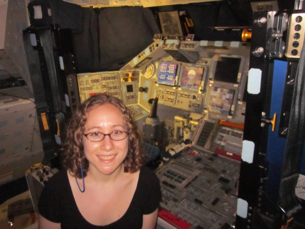 Inside Shuttle Discovery, a Reporter's-Eye View