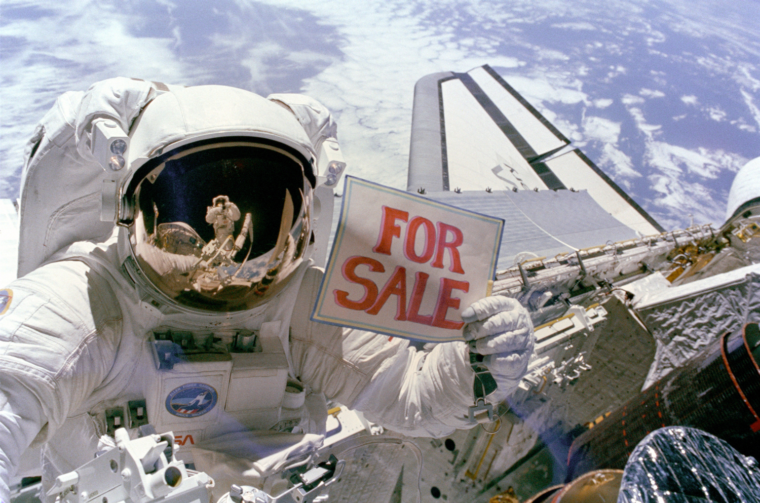 7. Space For Sale