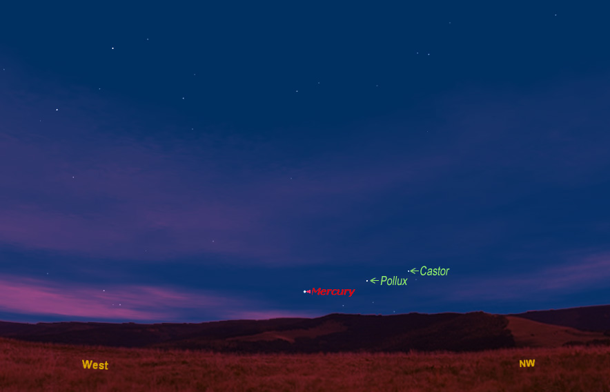 How to Spot the Elusive Planet Mercury This Week