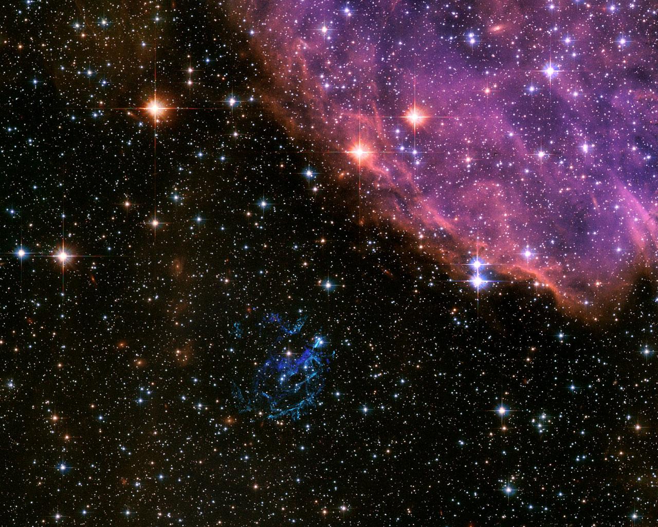 Cosmic Explosion Like Fireworks!