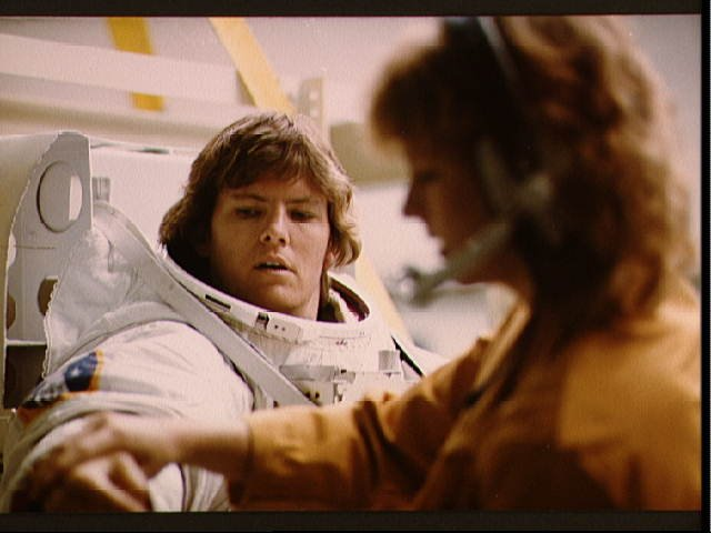 First U.S. Female Spacewalker