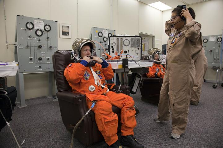 STS-135 Pilot Doug Hurley