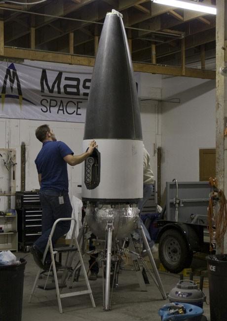 Private Suborbital Spaceship Builders Forge Ahead