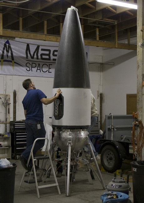 Private Suborbital Spaceship Builders Forge Ahead