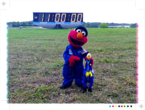Sesame Street's Elmo Visits NASA - Atlantis' STS-135 Launch