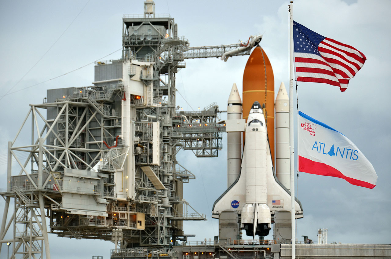 NASA Fuels Shuttle Atlantis for Historic Last Launch