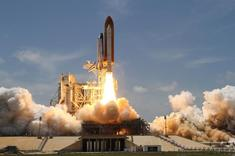 Shuttle Atlantis launch