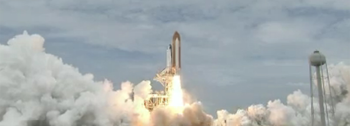 Shuttle Atlantis Launches on Mission STS-135