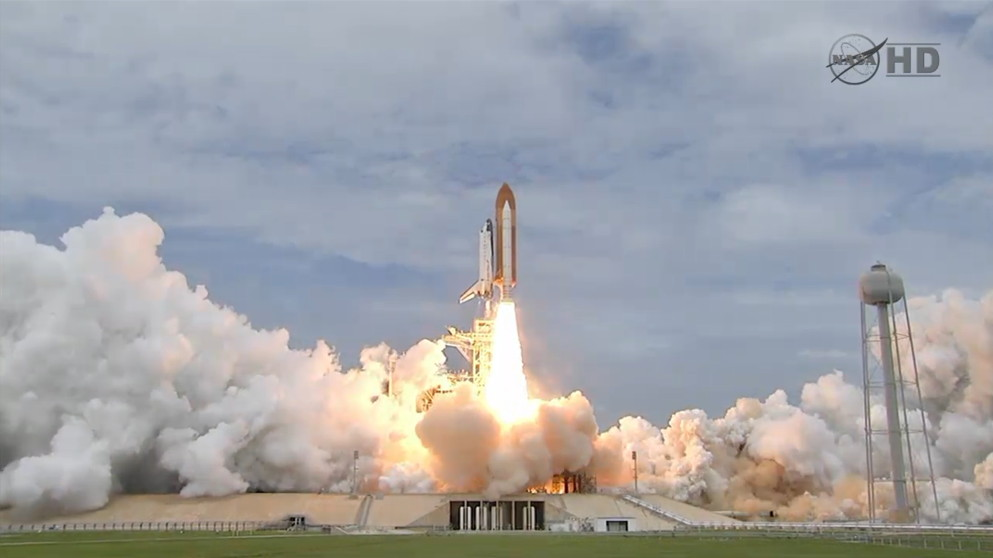 NASA Launches Space Shuttle on Historic Final Mission