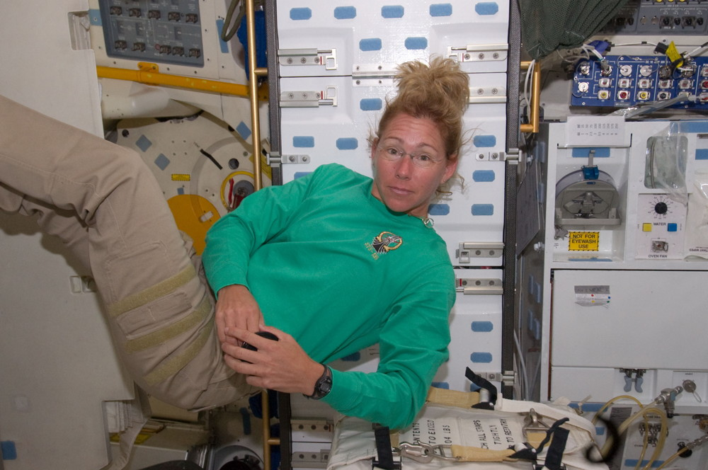 Last Female Shuttle Astronaut Tracking Women's World Cup from Space