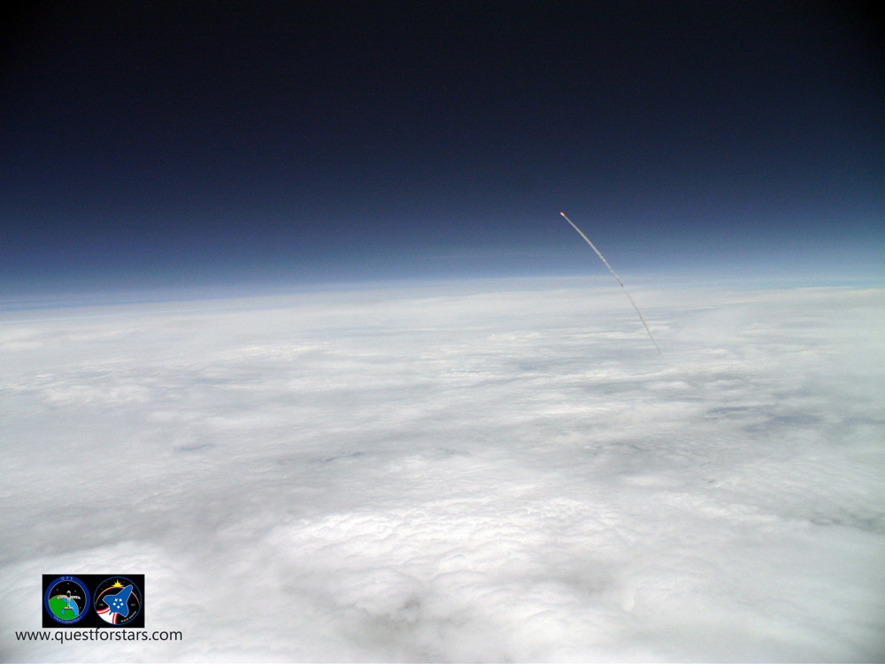 Amazing Balloon Photos Show Last Shuttle Launch From the Stratosphere