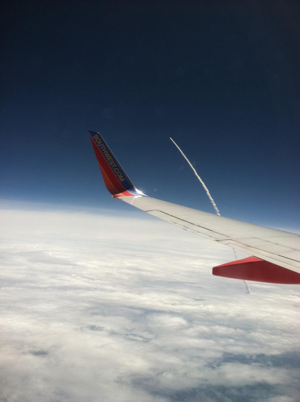 Shuttle Launch From Plane