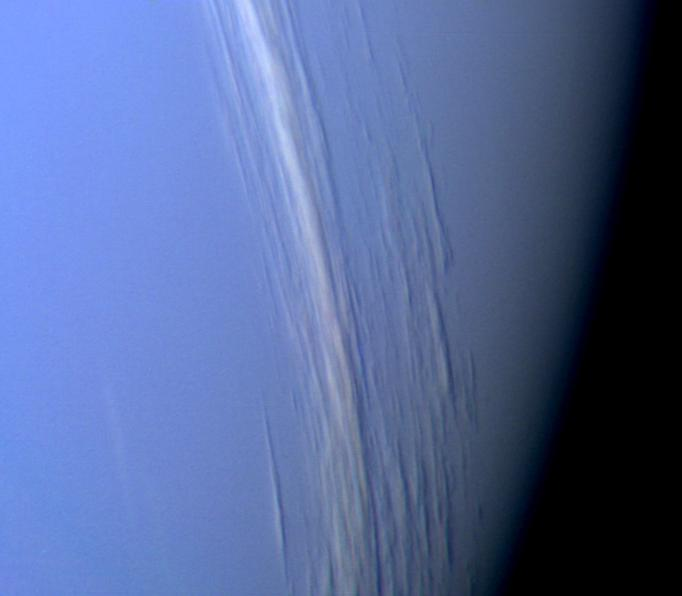 Neptune's Tall Clouds