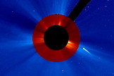 A comet's death was observed for the first time by the SOHO spacecraft in July 2011.