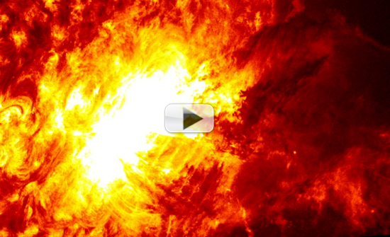 Hell Unleashed: Sun Spits Fire in Close-Up