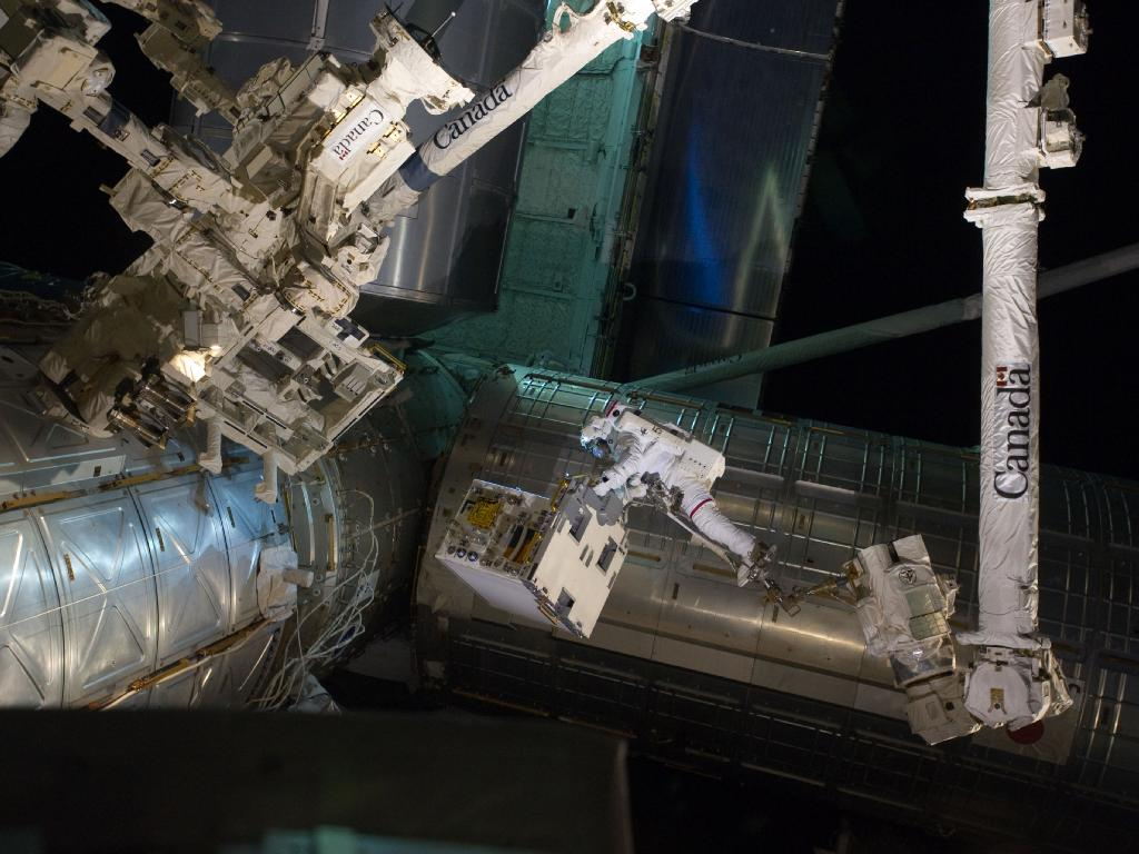 The Shuttle Program's Final Spacewalk