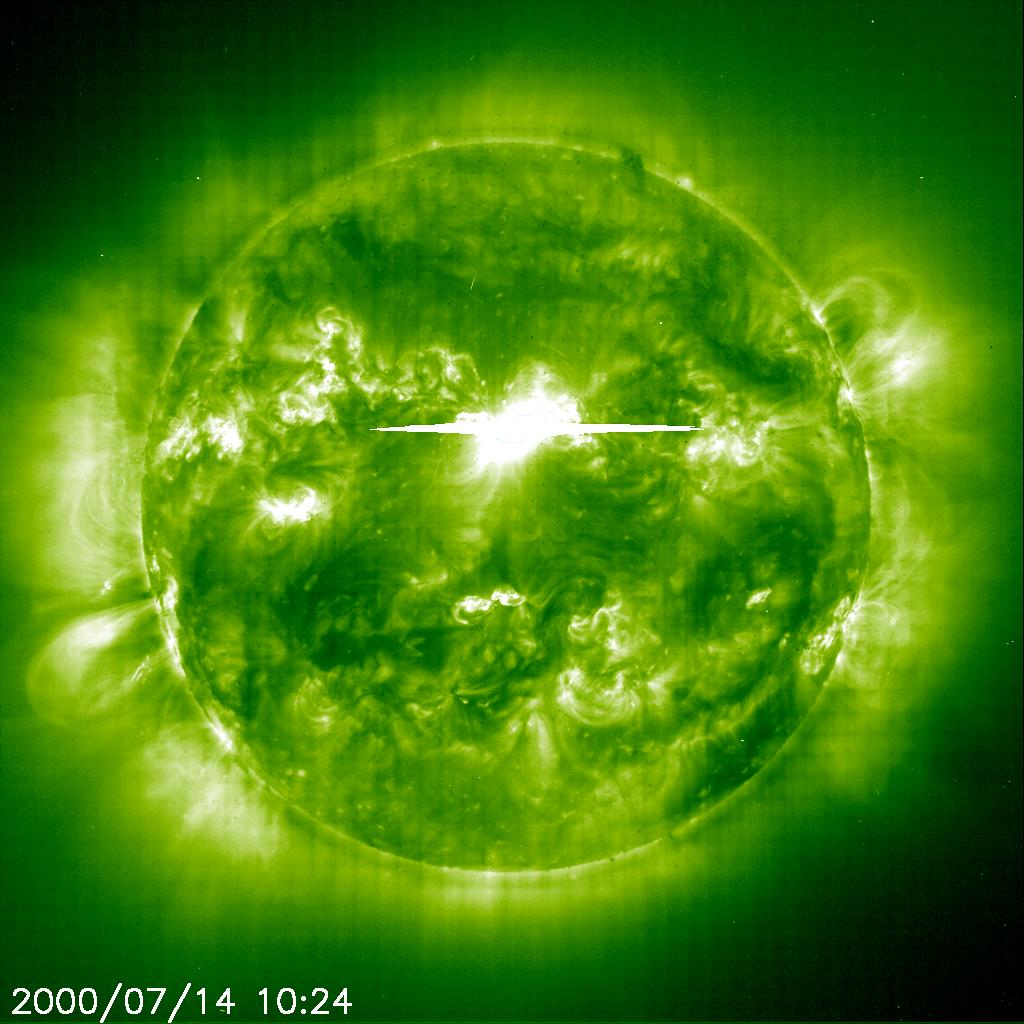 Bastille Day Solar Flare