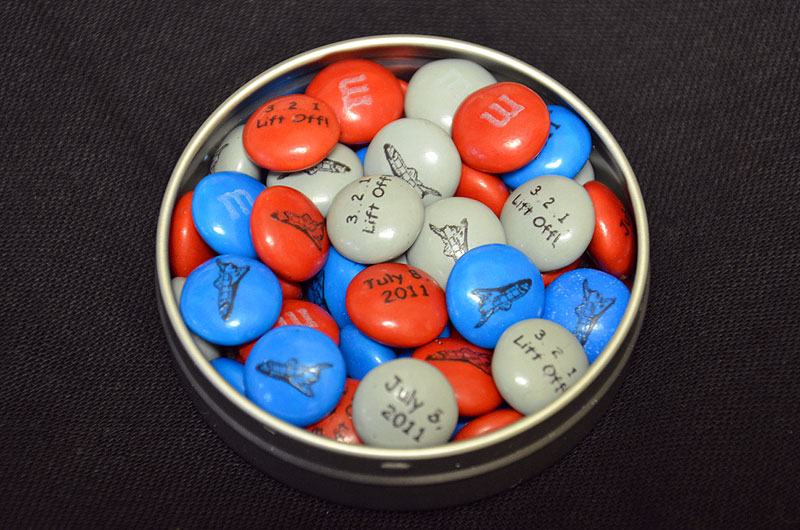 M&M's Gives NASA Sweet Sendoff For Final Shuttle Mission ...