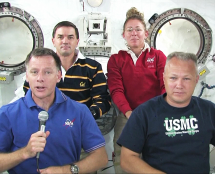 Shuttle Astronauts Too Busy for 'Harry Potter and the Deathly Hallows: Part 2'