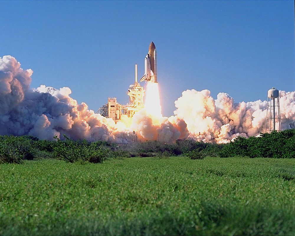 STS-95 Takeoff