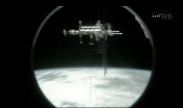Rare Space Station Side-View